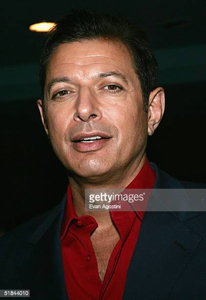 "Actor Jeff Goldblum attends ""The Life Aquatic With Steve Zissou"" premiere after party at Roseland Ballroom December 9, 2004 in New York City."