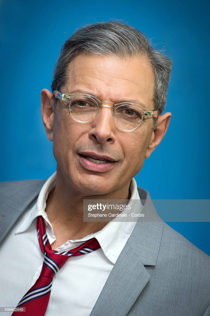 Actor Jeff Goldblum attends the 'The Grand Budapest Hotel' photocall during the 64th Berlinale International Film Festival at the Grand Hyatt, in Berlin, Germany.
