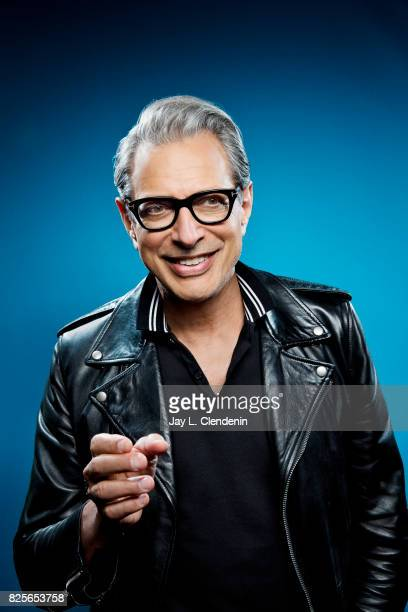 Actor Jeff Goldblum from the film Thor Ragnarok is photographed in the LA Times photo studio at ComicCon 2017 in San Diego CA on July 22 2017 CREDIT...