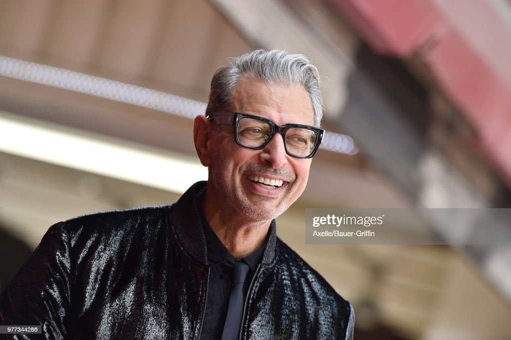 Jeff Goldblum Honored With Star On The Hollywood Walk Of Fame : News Photo