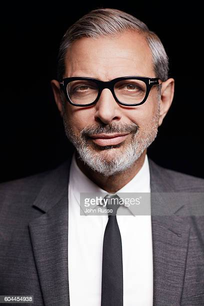 Actor Jeff Goldblum is photographed for 20th Century Fox on March 23 2016 in Los Angeles California