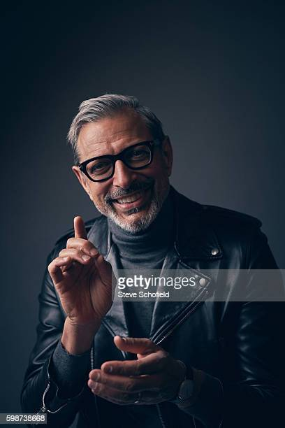 Actor Jeff Goldblum is photographed for Esquire magazine on March 24 2016 in Los Angeles California