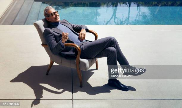 Actor Jeff Goldblum is photographed for Gentleman's Journal on July 27 2017 in Los Angeles California