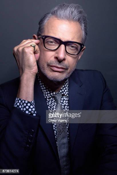 Actor Jeff Goldblum is photographed for Self Assignment on September 2 2017 in Deauville France