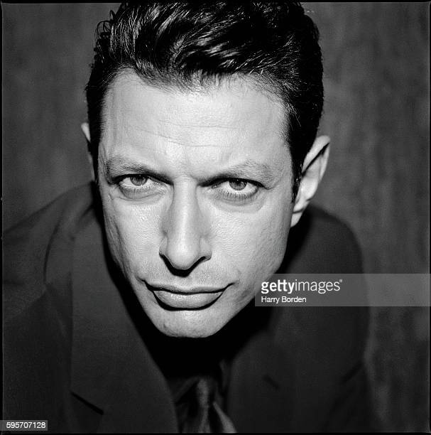 Actor Jeff Goldblum is photographed for the Observer on April 14 1997 in London England