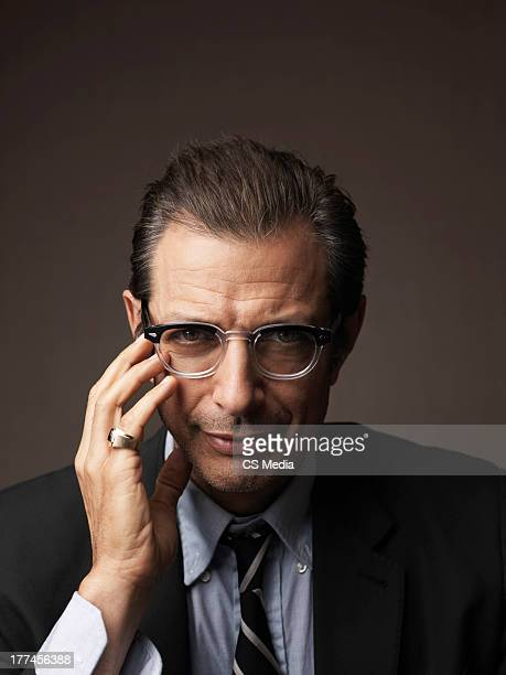 Actor Jeff Goldblum is photographed on September 10 2008 in Toronto Ontario