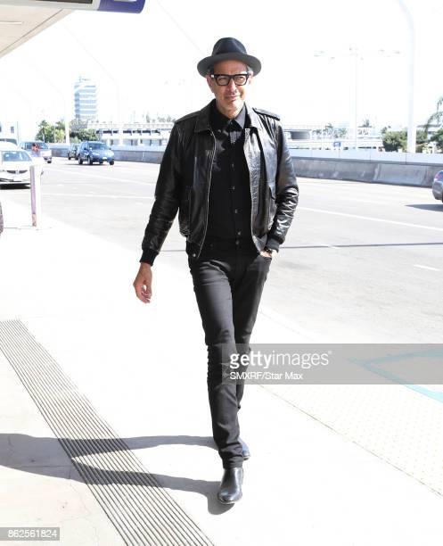 Actor Jeff Goldblum is seen on October 17 2017 in Los Angeles California