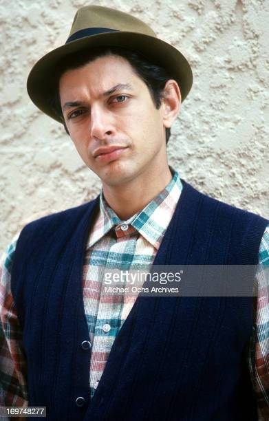 Actor Jeff Goldblum poses for a portrait in circa 1985