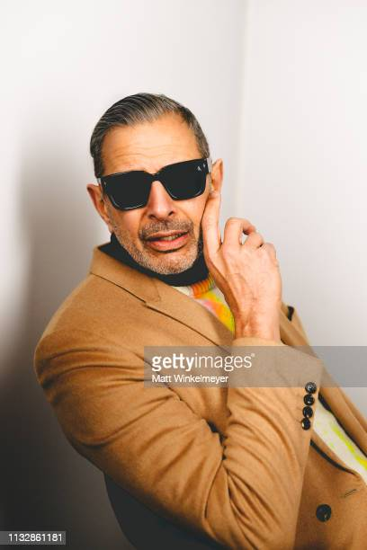 Actor Jeff Goldblum poses for a portrait on January 28, 201 in Park City, Utah. On January 28, 2019 in Park City, Utah.