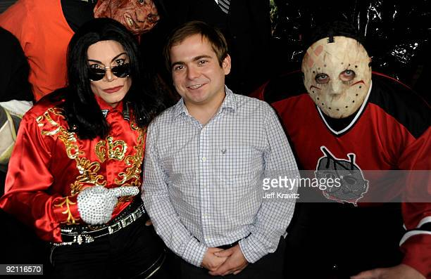 Actor Jeff Gulka arrives at the premiere of 'Stan Helsing' Bo Zenga's hilarious horror film parody held at ArcLight Hollywood on October 20 2009 in...