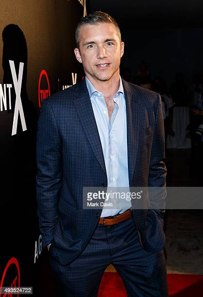 Actor Jeff Hephner attends the premiere of TNT's 'Agent X' at The London West Hollywood on October 20 2015 in West Hollywood California
