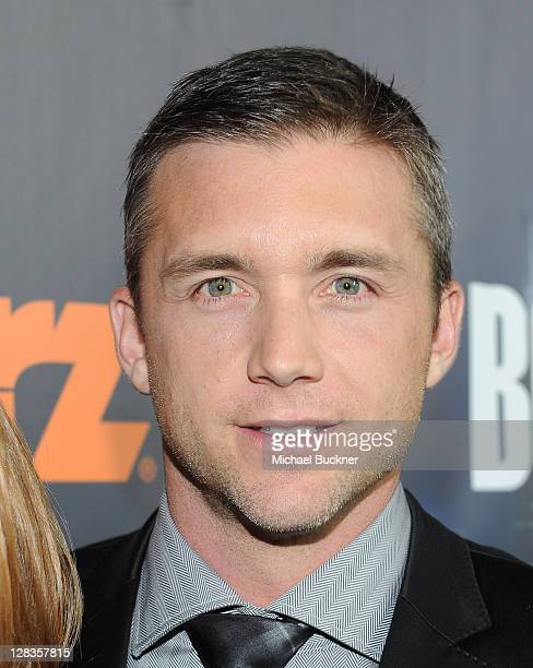 Actor Jeff Hephner attends the STARZ LA Premiere Event for Original Series Boss Starring Kelsey Grammer at the Arclight Theatres on October 6 2011 in...