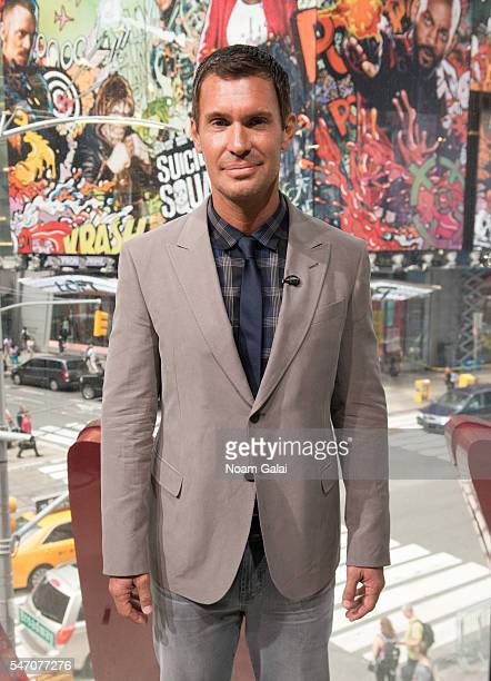 Actor Jeff Lewis visits Extra at HM Times Square on July 13 2016 in New York City
