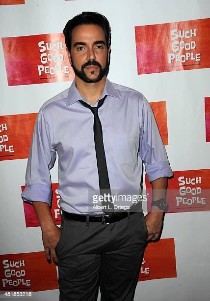 Actor Jeff Marchelletta arrives for the Screening Of Such Good People held at Majestic Crest Theatre on July 7 2014 in Los Angeles California