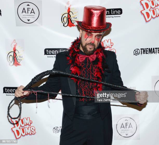 Actor Jeff Marchelletta attends Mateo Simon's Halloween Charity Event on October 28 2017 in Burbank California