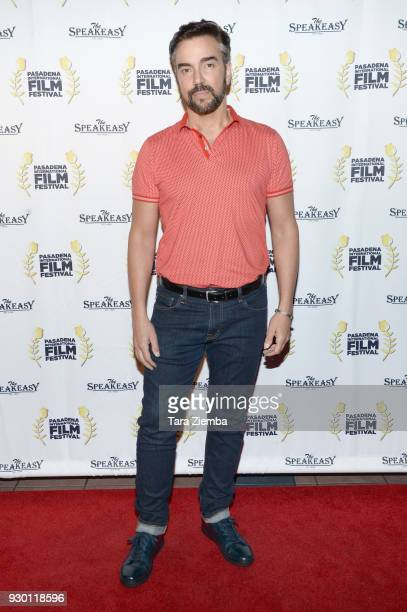 Actor Jeff Marchelletta attends Pasadena International Film Festival 'Buckout Road' premiere at Laemmle Playhouse 7 on March 9 2018 in Pasadena...