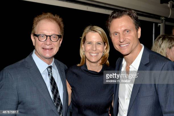 Actor Jeff Perry The New Yorker Publisher Lisa Hughes and actor Tony Goldwyn attend the White House Correspondents' Dinner Weekend PreParty hosted by...