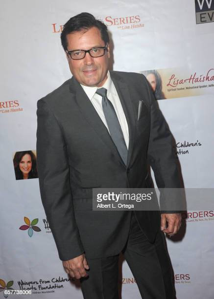 Actor Jeff Rector arrives for the Whispers From Children's Hearts Foundation's 3rd Legacy Charity Gala held at Casa Del Mar on March 24 2017 in Santa...