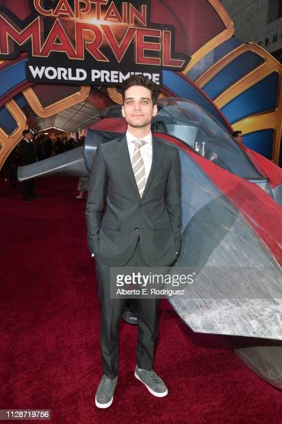 Actor Jeff Ward attends the Los Angeles World Premiere of Marvel Studios' Captain Marvel at Dolby Theatre on March 4 2019 in Hollywood California