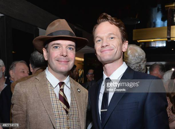 Actor Jefferson Mays nominee for Best Performance by an Actor in a Leading Role in a Musical for 'A Gentleman's Guide to Love Murder' and Neil...