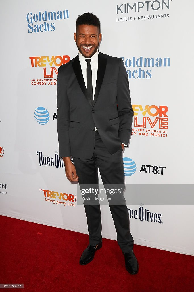 Actor Jeffrey Bowyer-Chapman arrives at the TrevorLIVE Los Angeles 2016 Fundraiser at The Beverly Hilton Hotel on December 4, 2016 in Beverly Hills, California.