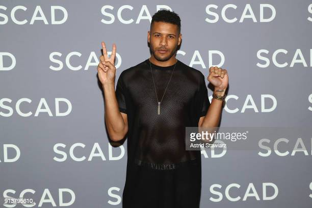 Actor Jeffrey BowyerChapman attends a press junket for 'UnREAL' on Day 3 of the SCAD aTVfest 2018 on February 3 2018 in Atlanta Georgia