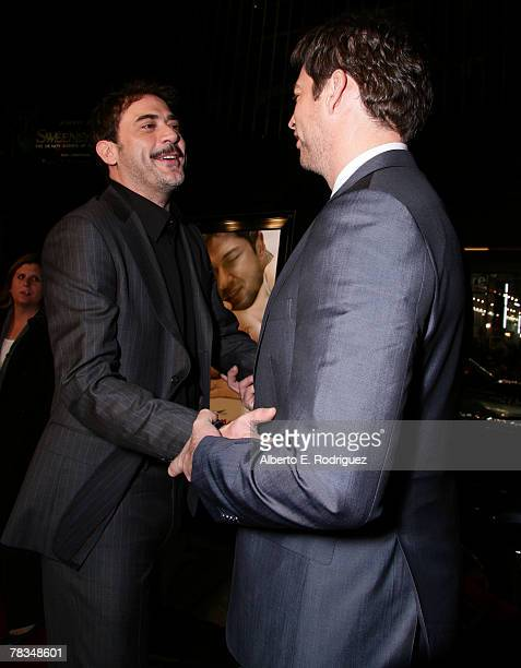 Actor Jeffrey Dean Morgan and actor Harry Connick Jr arrive at the premiere of Warner Bros' 'PS I Love You' held at Grauman's Chinese Theater on...