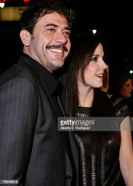 Actor Jeffrey Dean Morgan and actress Mary Louise Parker arrive at the premiere of Warner Bros' 'PS I Love You' held at Grauman's Chinese Theater on...