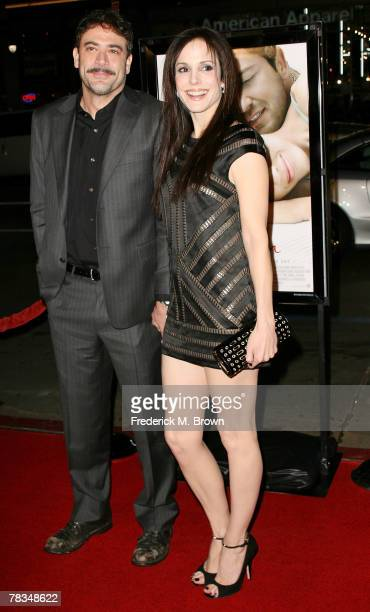 Actor Jeffrey Dean Morgan and actress Mary Louise Parker attend the Warner Bros' film premiere of 'PS I Love You' at Grauman's Chinese Theatre on...