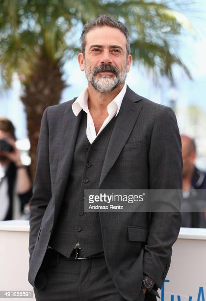 "Actor Jeffrey Dean Morgan attends the ""Saint Laurent"" photocall at the 67th Annual Cannes Film Festival on May 17, 2014 in Cannes, France."