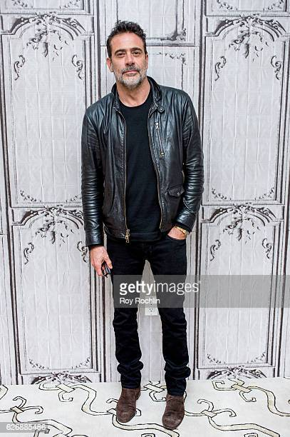 "Actor Jeffrey Dean Morgan discusses ""The Walking Dead"" during The Build Series at AOL HQ on November 30, 2016 in New York City."