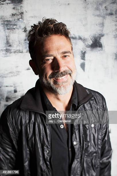 Actor Jeffrey Dean Morgan from the film Desierto is photographed for Los Angeles Times on September 25 2015 in Toronto Ontario PUBLISHED IMAGE CREDIT...