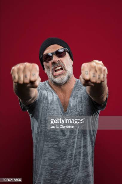 Actor Jeffrey Dean Morgan from 'The Walking Dead' is photographed for Los Angeles Times on July 21, 2018 in San Diego, California. PUBLISHED IMAGE....