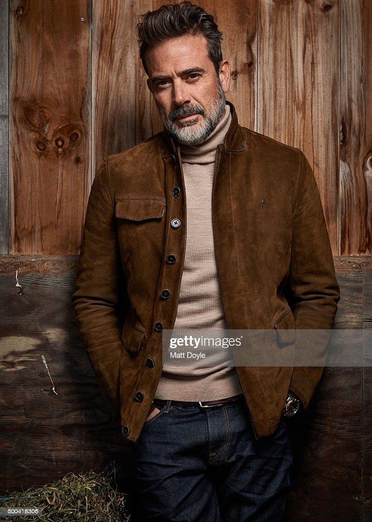 Jeffrey Dean Morgan, Sharp, December/January 2016