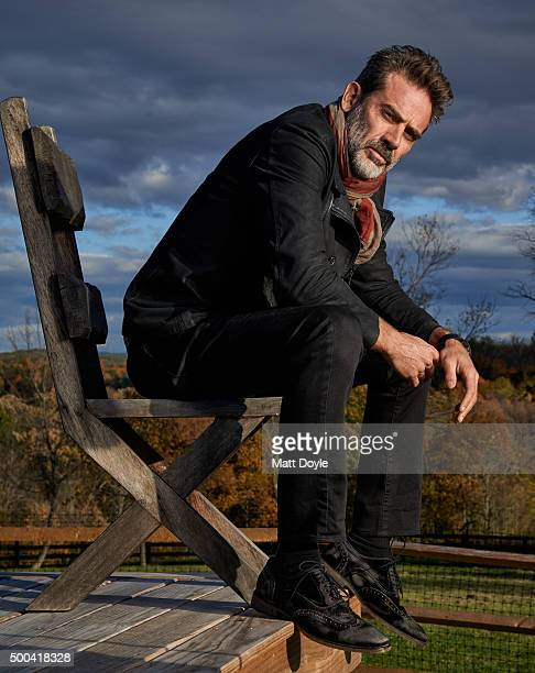 Actor Jeffrey Dean Morgan is photographed for Sharp Magazine on October 17 in Beacon New York PUBLISHED IMAGE