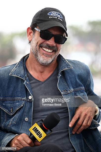 Actor Jeffrey Dean Morgan of The Walking Dead attends the IMDb Yacht at San Diego ComicCon 2016 Day Three at The IMDb Yacht on July 23 2016 in San...