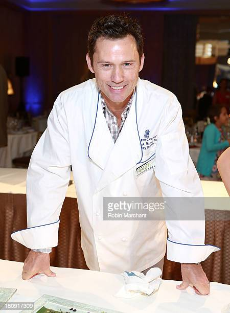 Actor Jeffrey Donovan attends Family Reach Foundation's 2nd Annual Cooking Live Fundraiser at Ritz Carlton Battery Park on September 17 2013 in New...