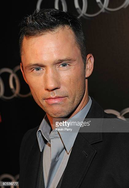 Actor Jeffrey Donovan attends the Audi Diesel Dinner at Sunset Tower on October 29 2009 in West Hollywood California