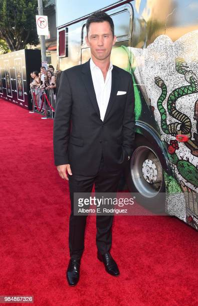 Actor Jeffrey Donovan attends the premiere of Columbia Pictures' Sicario Day Of The Soldado at Regency Village Theatre on June 26 2018 in Westwood...