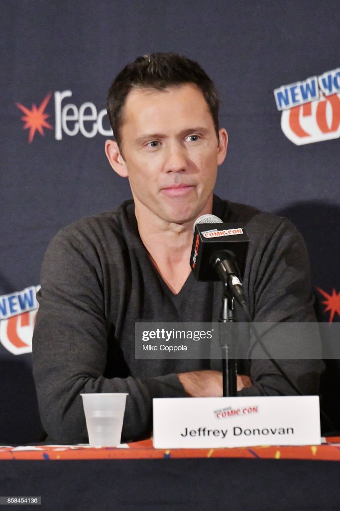 Actor Jeffrey Donovan participates in Hulu's Shut Eye panel at New York Comic Con at Jacob Javits Center on October 6, 2017 in New York City.