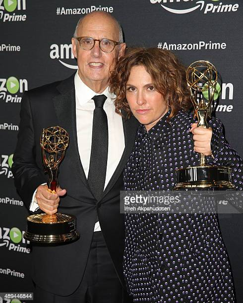 Actor Jeffrey Tambor and director Jill Soloway attend Amazon Video's 67th Primetime Emmy Celebration at The Standard Hotel on September 20 2015 in...