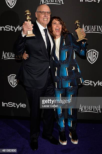 Actor Jeffrey Tambor and writer/producer Jill Soloway attend the 16th Annual Warner Bros and InStyle PostGolden Globe Party at The Beverly Hilton...