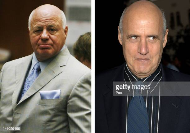 In this composite image a comparison has been made between Bruce Cutler and Jeffrey Tambor actor Jeffrey Tambor will reportedly play Bruce Cutler in...