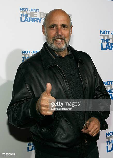 Actor Jeffrey Tambor arrives at the wrap party and DVD release for 'The Larry Sanders Show' at Cut on April 10 2007 in Beverly Hills California