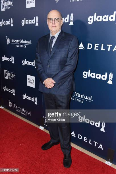 Actor Jeffrey Tambor attends the 28th Annual GLAAD Media Awards in LA at The Beverly Hilton Hotel on April 1 2017 in Beverly Hills California