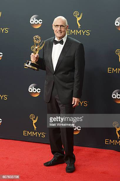 Actor Jeffrey Tambor attends the 68th Annual Primetime Emmy Awards at Microsoft Theater on September 18 2016 in Los Angeles California