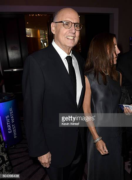 Actor Jeffrey Tambor attends the cocktail reception during the 73rd Annual Golden Globe Awards at The Beverly Hilton Hotel on January 10 2016 in...