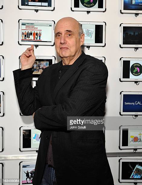 Actor Jeffrey Tambor attends The Samsung Galaxy Experience hosts a QA with Mitch Hurwitz Will Arnett and Jeffrey Tambor at SXSW on March 10 2013 in...