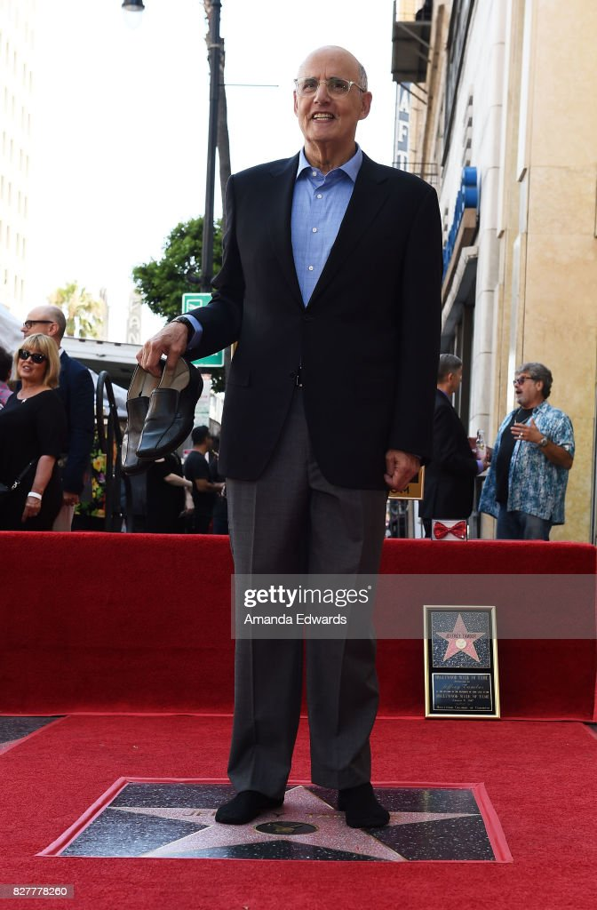 Actor Jeffrey Tambor is honored with a star on The Hollywood Walk of Fame on August 8, 2017 in Hollywood, California.
