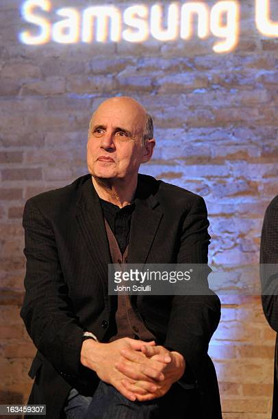 Actor Jeffrey Tambor onstage as The Samsung Galaxy Experience hosts a QA with Mitch Hurwitz Will Arnett and Jeffrey Tambor at SXSW on March 10 2013...